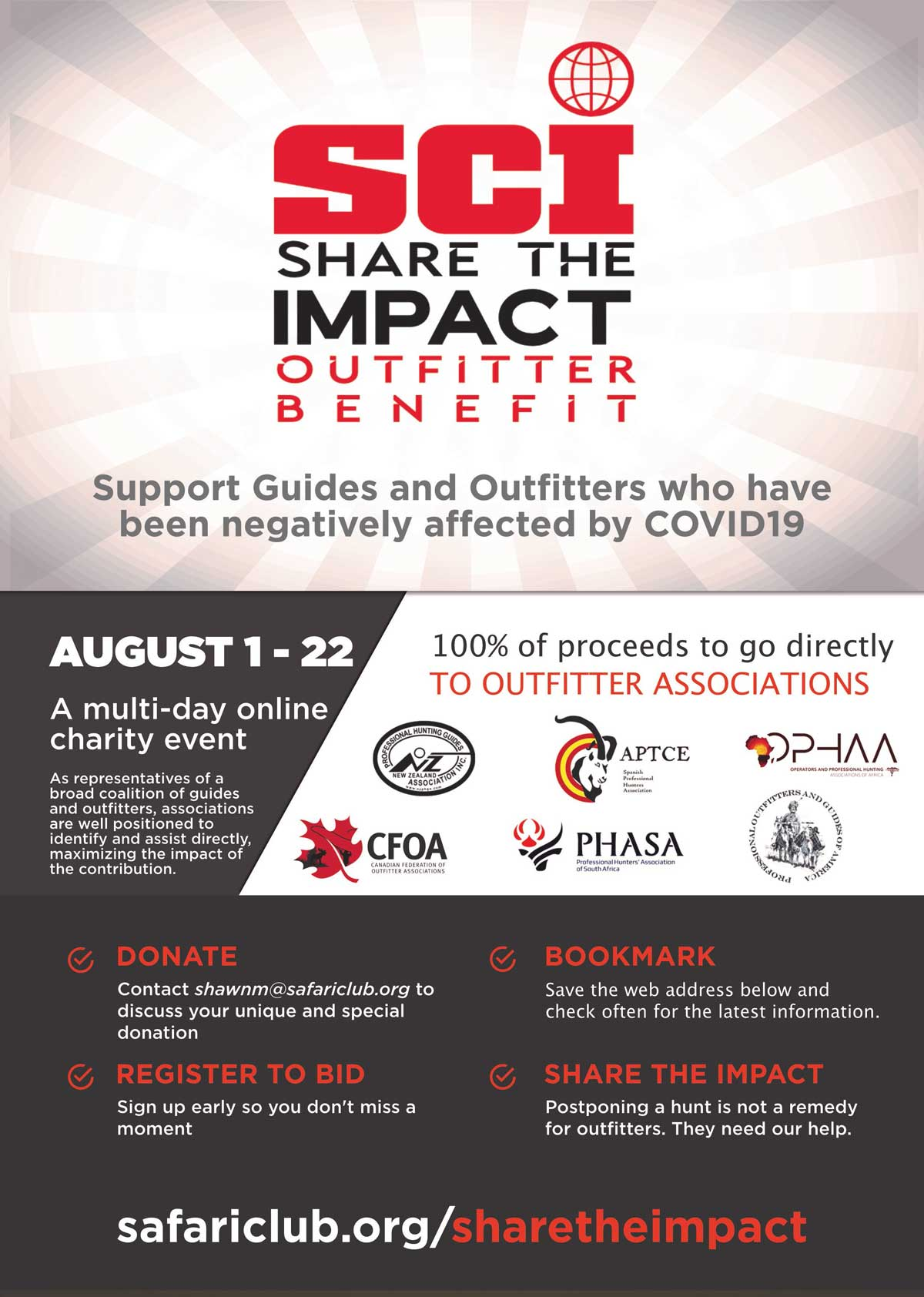 share the Impact outfitter benefit mdm
