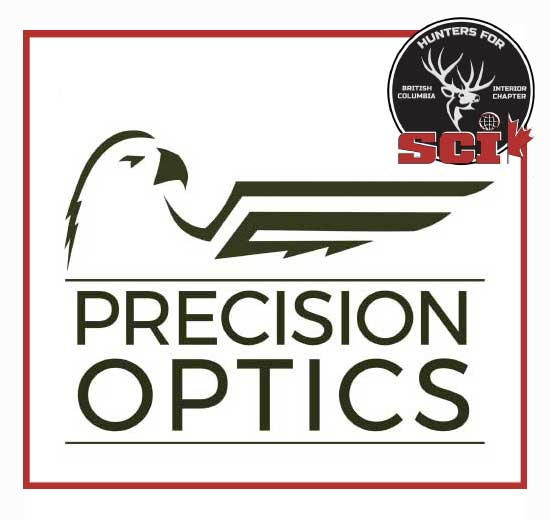 precision optics sponsor logo