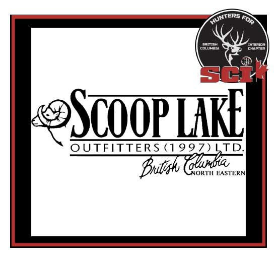 scoop lake outfitters northern british columbia logo